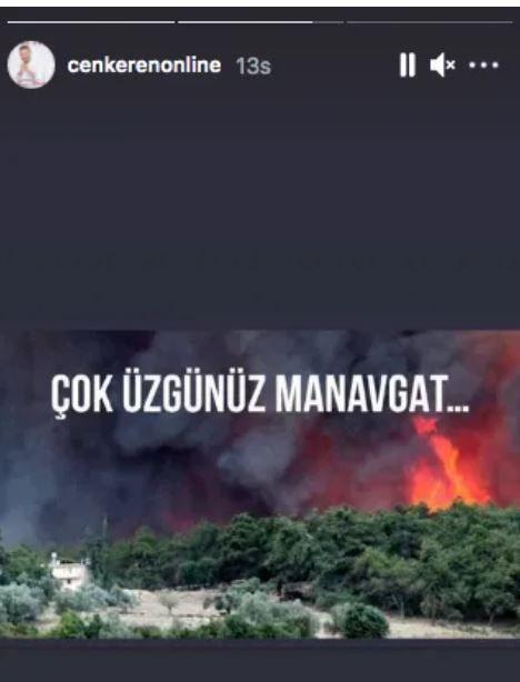 Manavgat yangınına ünlülerden tepkili paylaşım! Çiftliği yanan Tuğba Özay'a 'reklam' suçlaması!