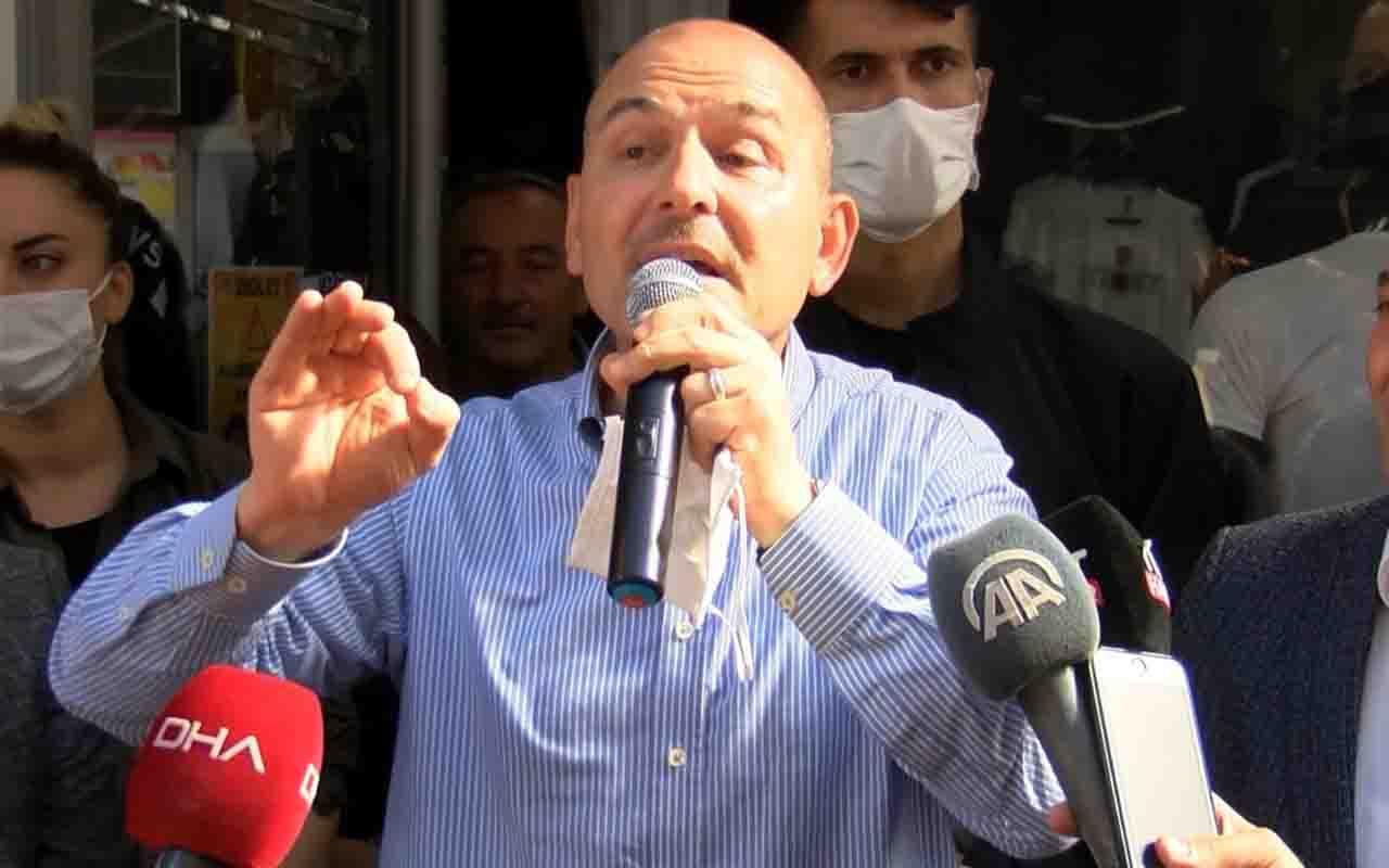 İçişleri Bakanı Süleyman Soylu 'Afgan mülteci' eleştirilerine cevap verdi