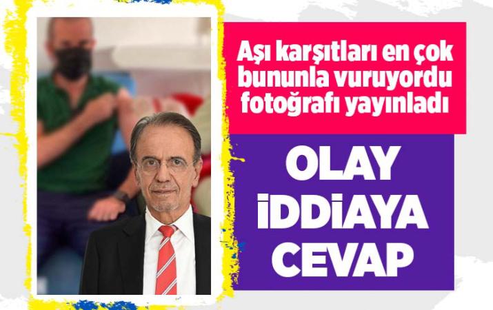 Mehmet Ceyhan oğluyla ilgili olay iddiaya fotoğrafla yanıt verdi! Aşı oldu mu ilaç şirketinde mi çalışıyor?