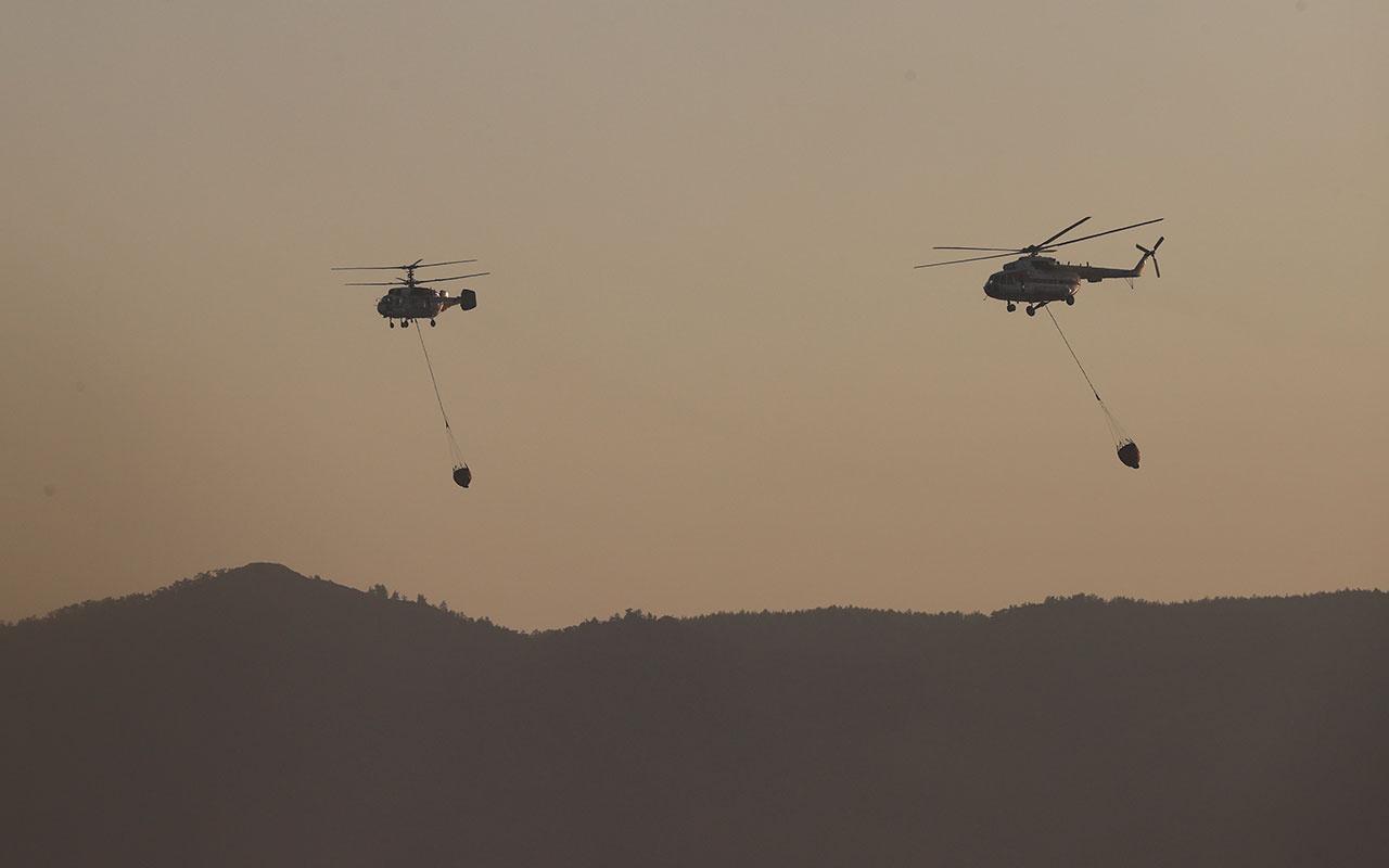 Orman yangınlarını uçaklar mı yoksa helikopterler mi daha kolay söndürür?