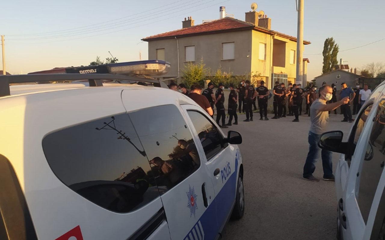 Konya'da katliam! Silahlı saldırı sonrası evi ateşe verdiler: 7 ölü