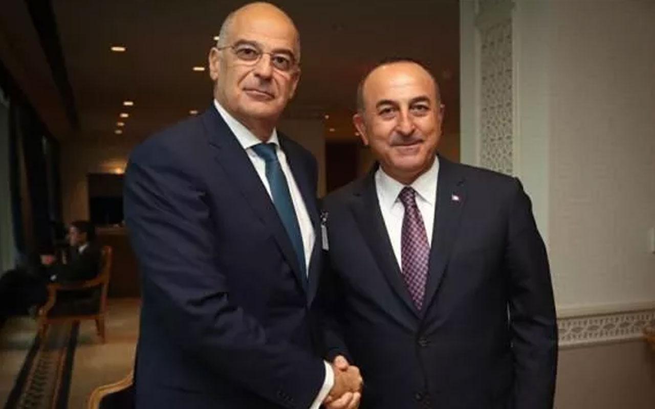 Bakan Çavuşoğlu'na, Dendias'tan geçmiş olsun telefonu