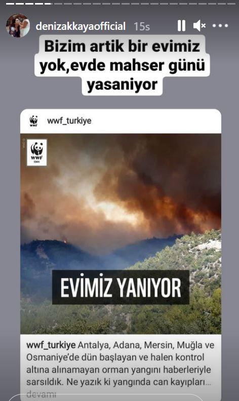 Manavgat'tan sonra Bodrum yangını... Ünlülerden sosyal medyada 'Türkiye yanıyor' isyanı!