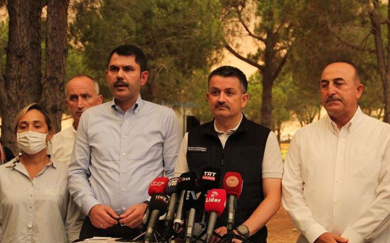 Orman Bakanı Bekir Pakdemirli'den THK uçakları açıklaması! Uçabilecek durumda değiller