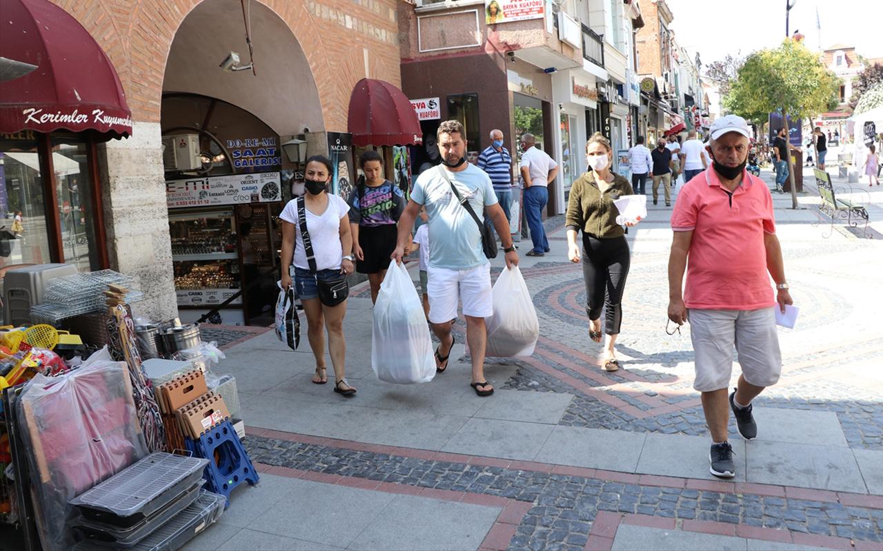 Gurbetçiler Edirne'ye can suyu oldu