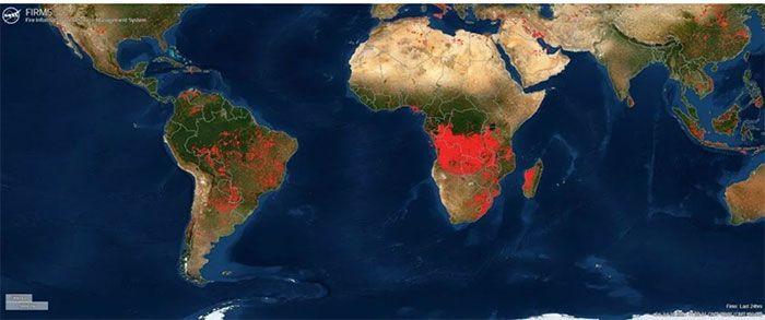 NASA Türkiye'deki yangınları böyle izliyor! İşte NASA'nın yeni takip sistemi