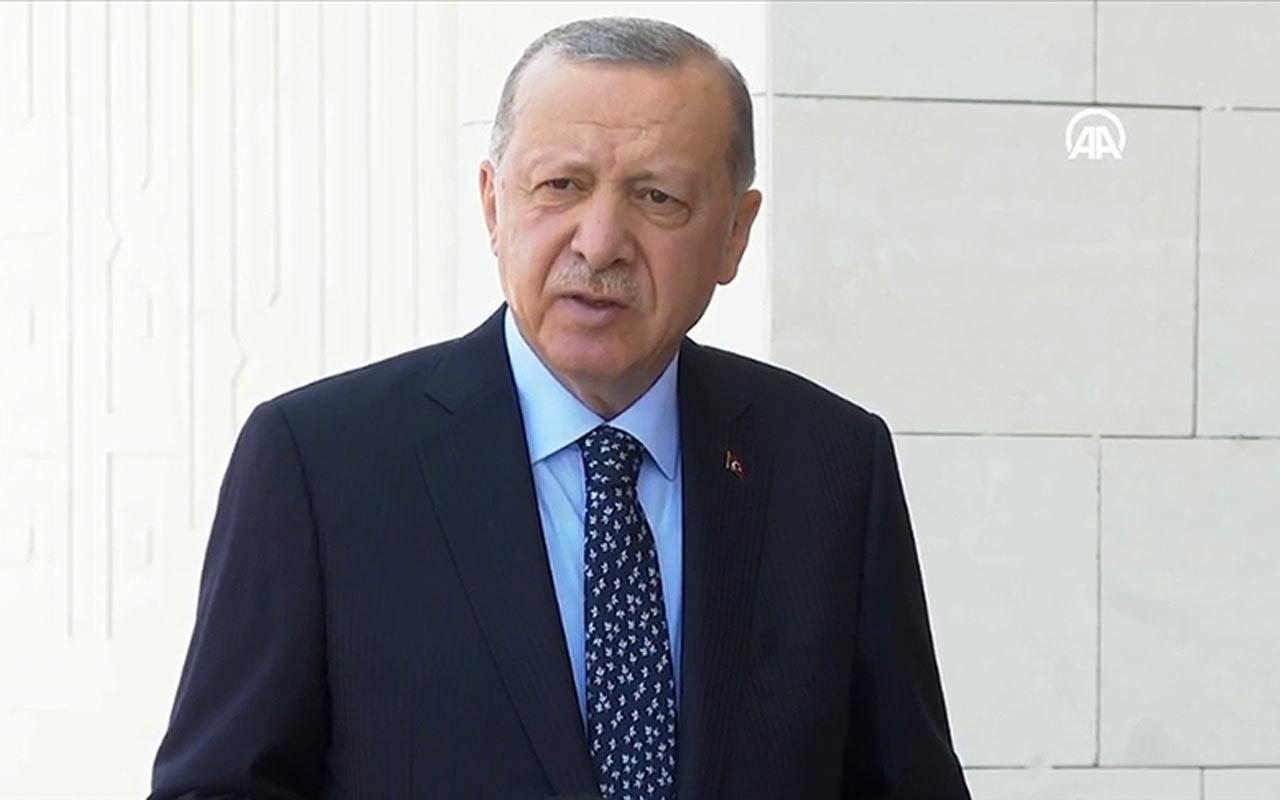 Cumhurbaşkanı Erdoğan'dan orman yangınlarıyla ilgili flaş açıklamalar