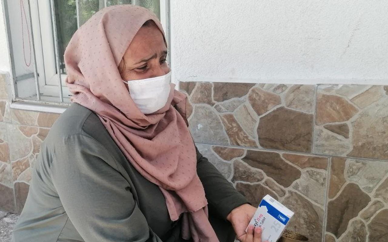 Aksaray'da kiralık evi alev alev yandı! Gözyaşı yürekleri dağladı
