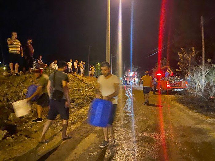 Fethiye'yi de yaktılar! Turizm cenneti Ölüdeniz'de yangını molotof kokteyli mi başlattı