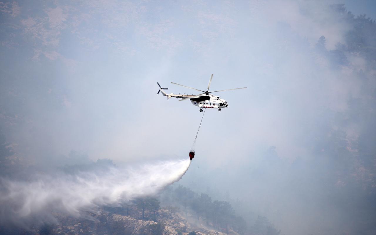 Bakan Pakdemirli Türkiye'de çıkan yangınlarda son durumu paylaştı