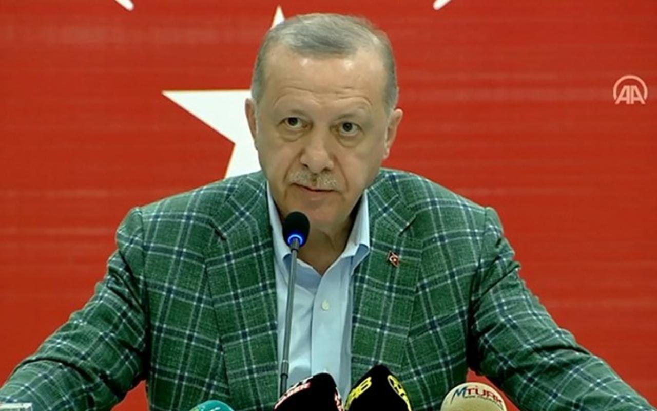 Cumhurbaşkanı Erdoğan: Ormanlarımızı yakanları bulup ciğerlerini yakmak boynumuzun borcudur