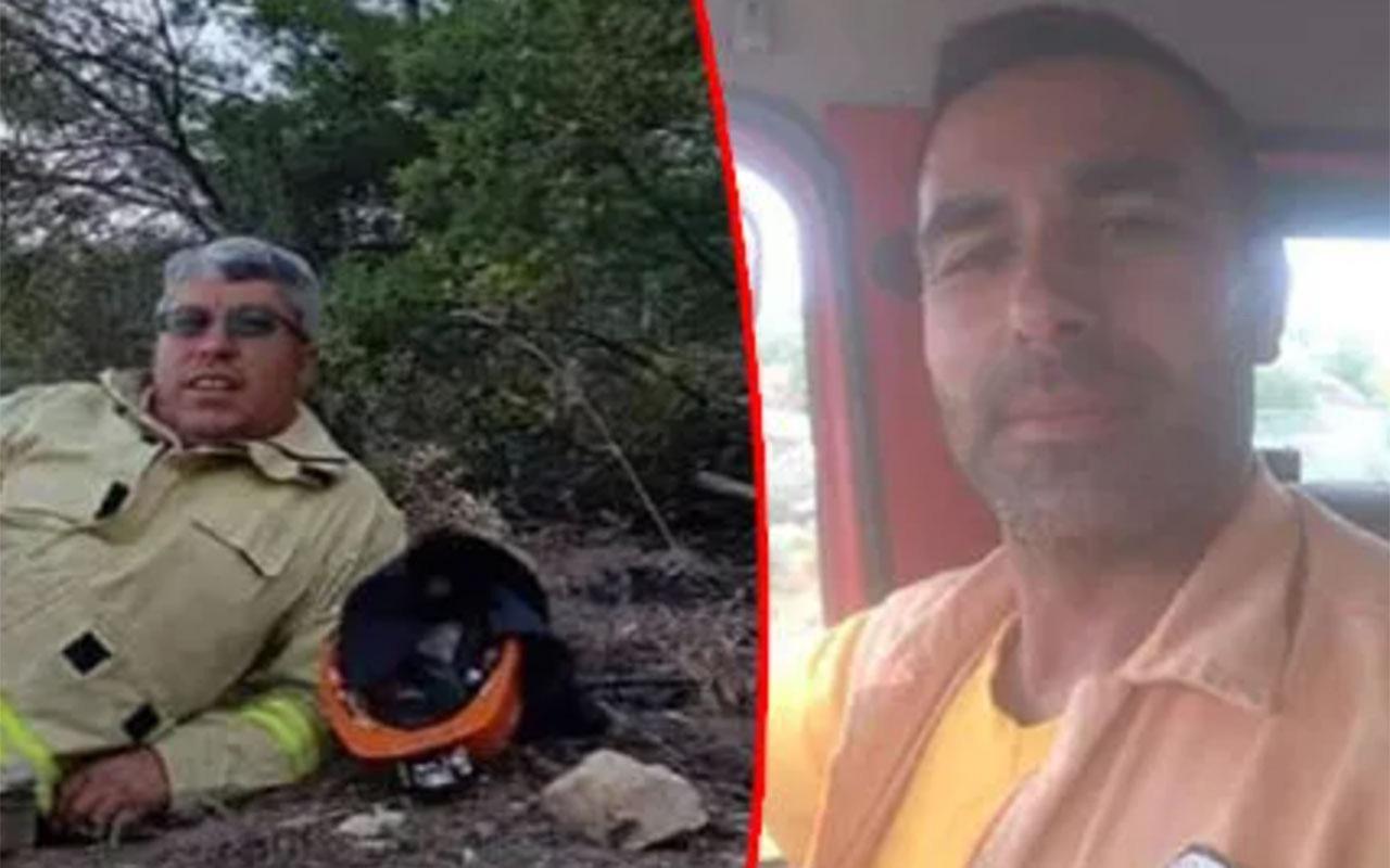 Manavgat'ta feci şekilde ölen 2 yangın işçisinin son anlarının görüntüsü çıktı