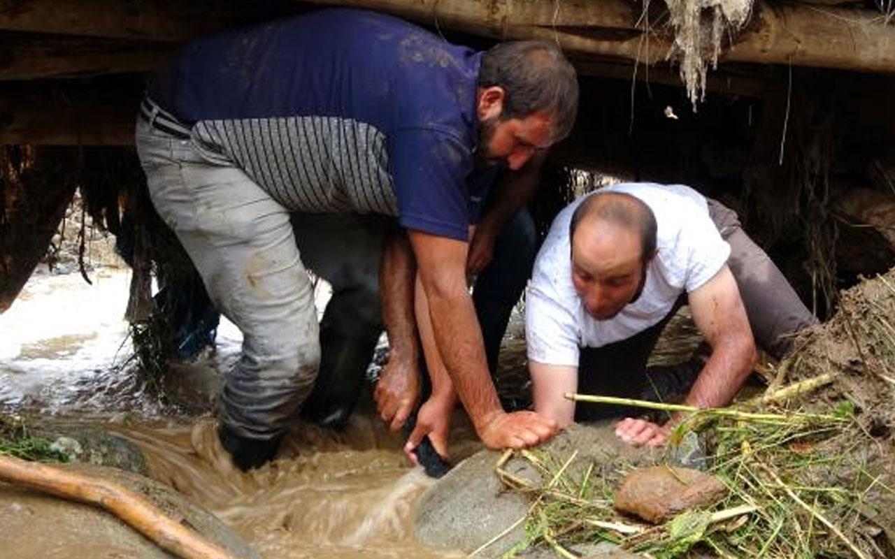 Hakkari'nin Yüksekova ilçesindeki sel nedeniyle 500 koyun telef oldu
