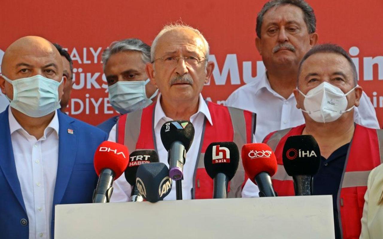 Kemal Kılıçdaroğlu: Yangın söndürme helikopterleri yangını büyütüyor