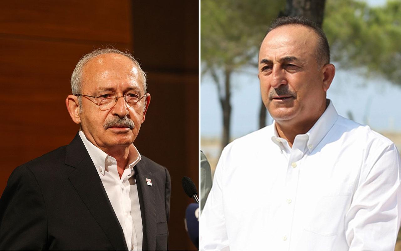 Mevlüt Çavuşoğlu'ndan Kemal Kılıçdaroğlu'na sert tepki devlet adamı olsaydı