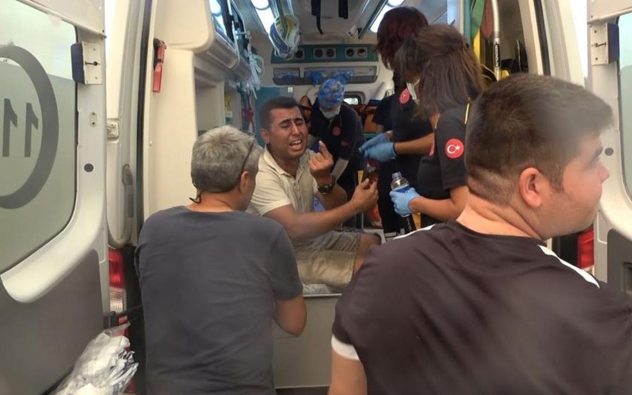 Antalya'da yangından son anda kurtulan genç: Babam bile bile alevlerin içinde kaldı