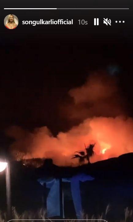 Fethiye yangınında son durum görüntüler korkunç Songül Karlı paylaştı!