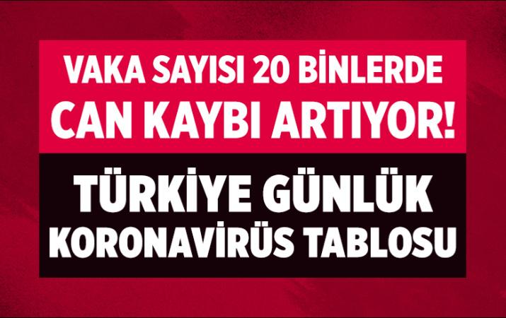 Türkiye 1 Ağustos 2021 koronavirüs vaka ve ölü sayısı! Sağlık Bakanlığı Covid-19 tablosu
