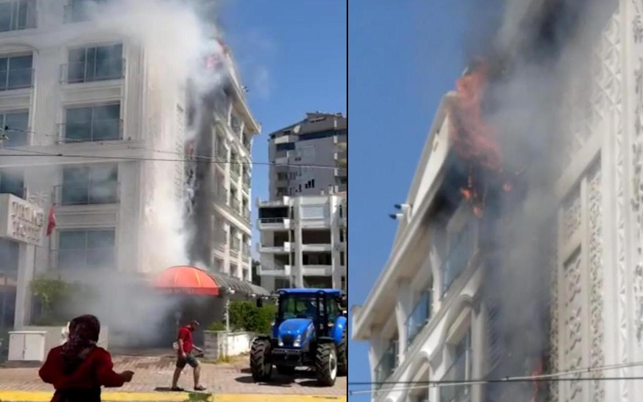 Antalya'da 5 yıldızlı otelde yangın paniği! Müşteriler tahliye edildi