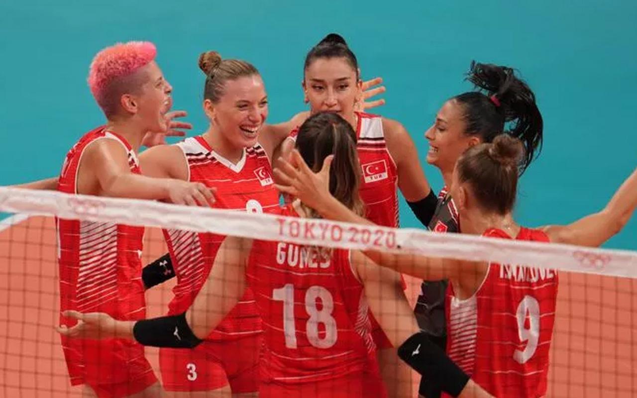 Filenin Sultanları Tokyo 2020'de Rusya'yı 3-2 yendi! Çeyrek final rakibimiz hangi ülke?