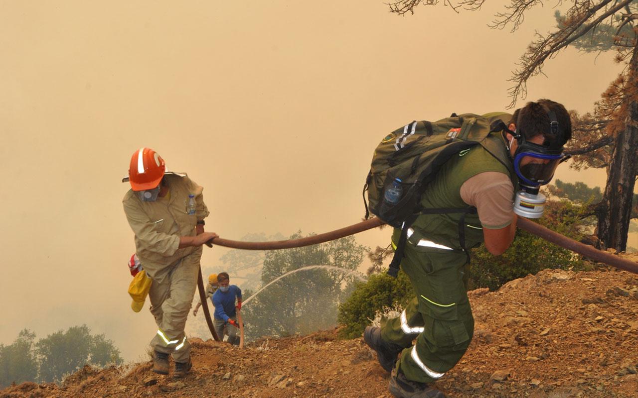 Manavgat, Köyceğiz, Çökertme orman yangınlarında son durum haberler kötü