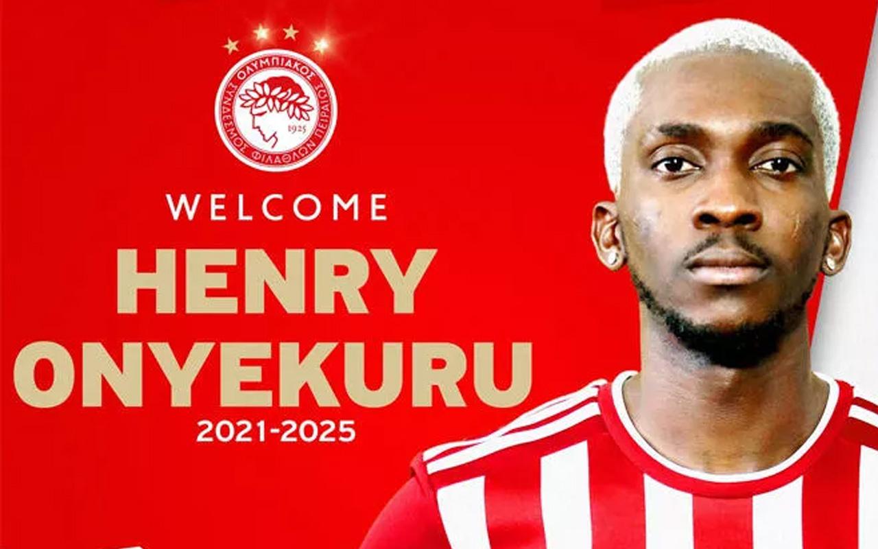 Olympiakos, Henry Onyekuru transferini resmen açıkladı