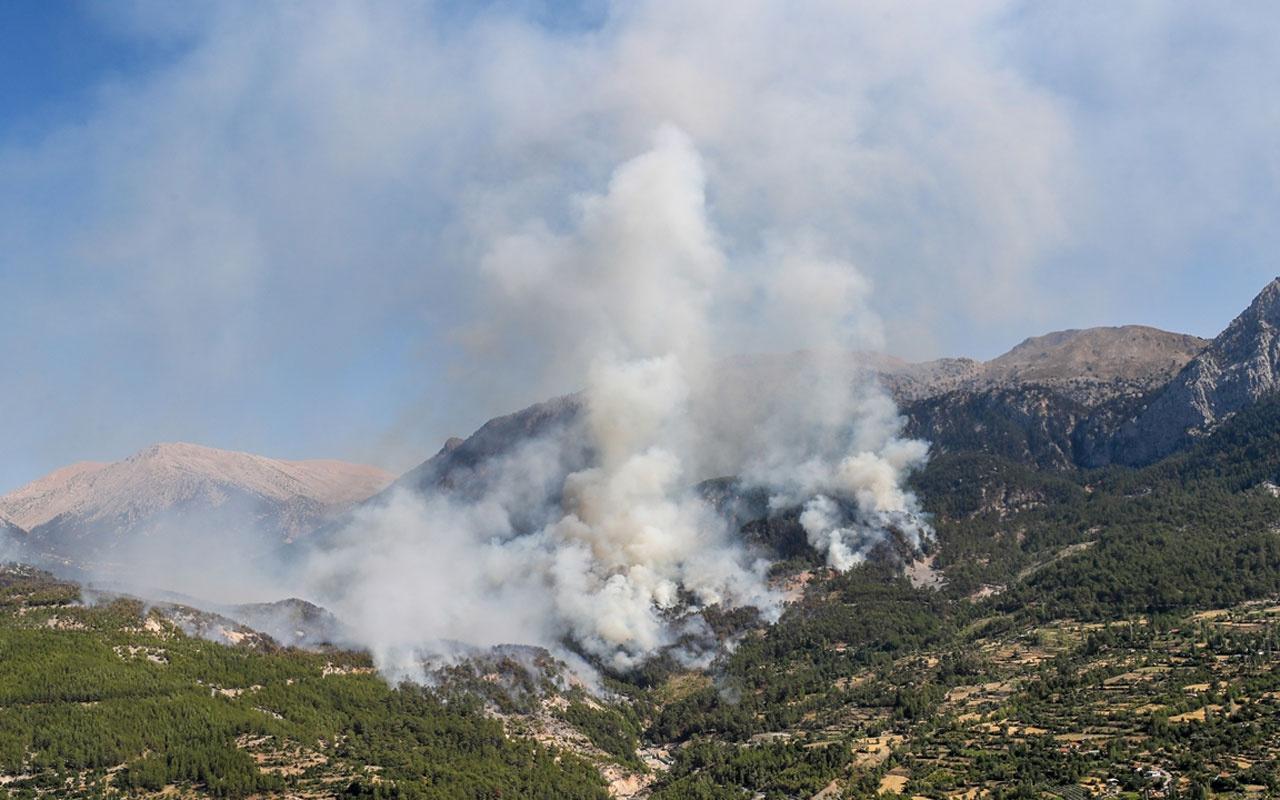 Manavgat, Bodrum, Milas, Köyceğiz, Marmaris, Uşak yangınlarında son durum