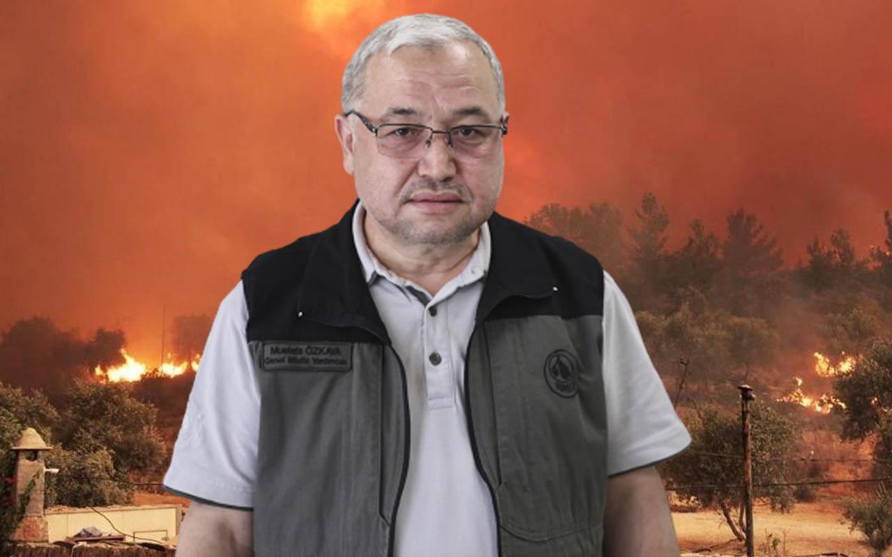 'Hava gücümüz iyi' deyip MustafaÖzkaya konuştu: Destek vermek isteyen ülkeleri de kıramıyoruz