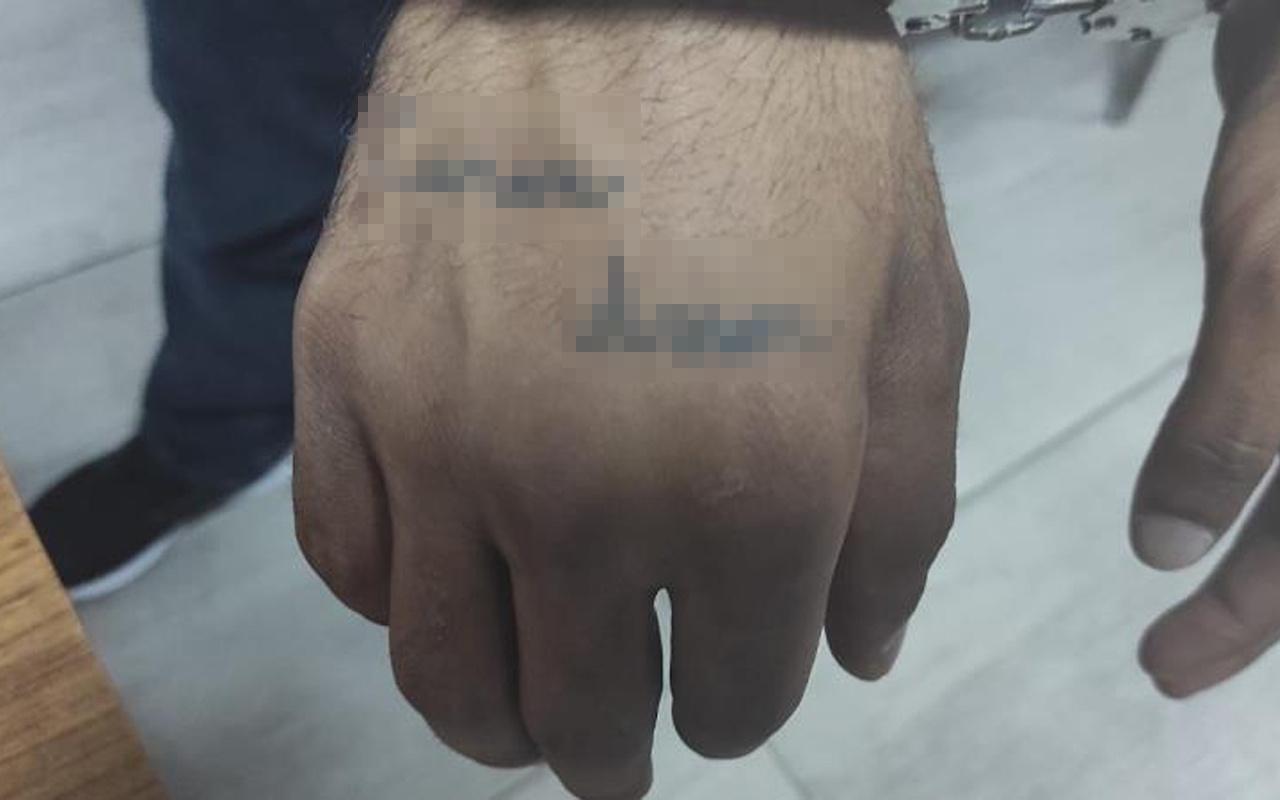 İstanbul'da hırsız yaptırdığı dövmeyle kıskıvrak yakalandı! İşte dövmesi...