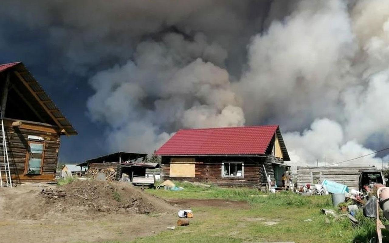 3 haftadır sürüyor! Sibirya'daki orman yangınları yerleşim alanlarına sıçradı
