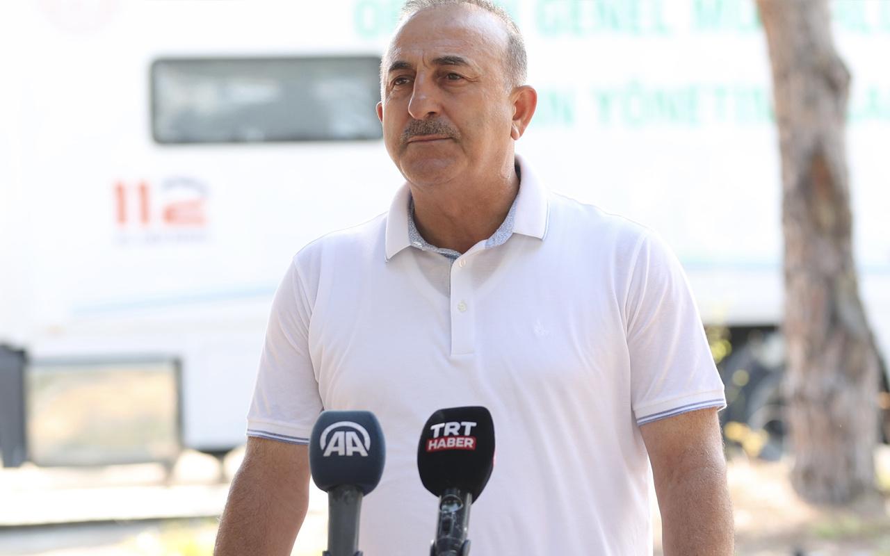 Bakan Mevlüt Çavuşoğlu Türkiye'ye dönüş yapan ve geri çeviren ülkeleri açıkladı