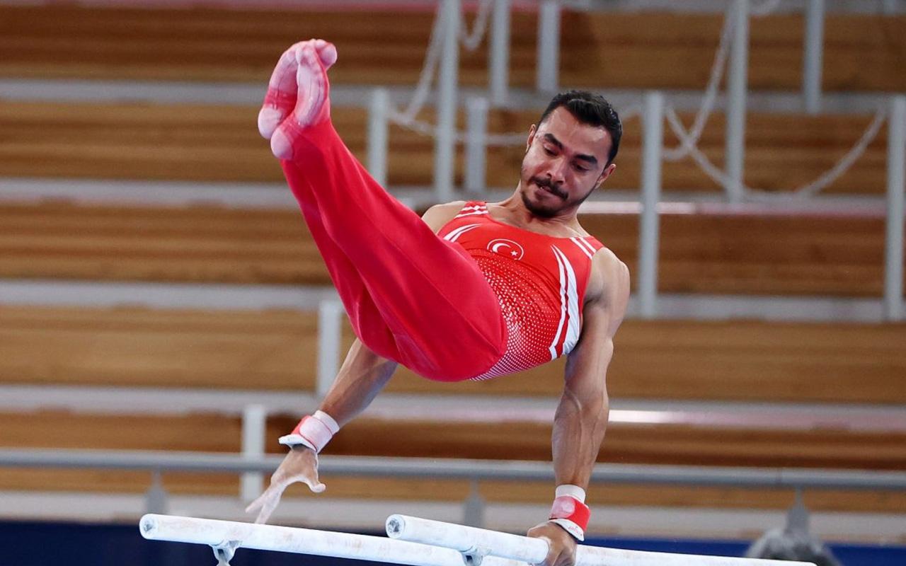 Milli cimnastikçi Ferhat Arıcan Tokyo 2020'de bronz madalya kazandı