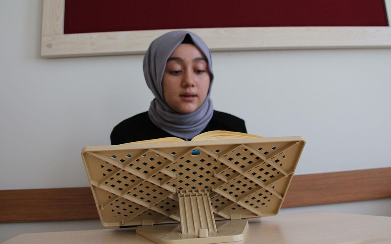 Konya'da yaşayan 15 yaşındaki İrem 3 ayda hafız oldu