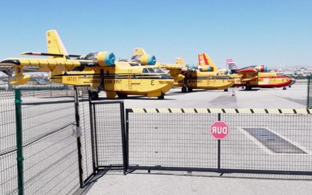 Kullanılmayan THK uçakları görüntülendi Kullanılması için 4-5 milyon dolar gerek