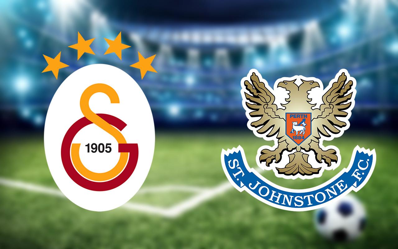 Galatasaray St Johnstone maçında ilk 11'ler belli oldu