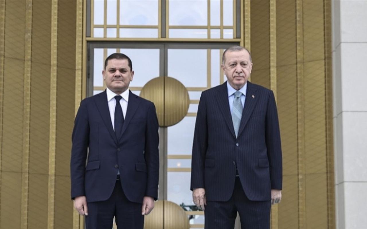 Cumhurbaşkanı Erdoğan, Libya Başbakanı Abdulhamid Dibeybe'yi kabul edecek