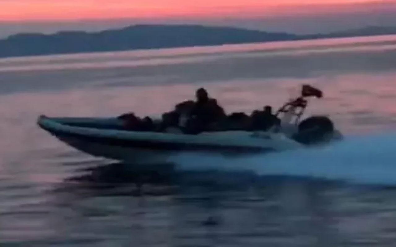 Balıkesir'de sürat teknesinin çarptığı kadın yaşamını yitirdi