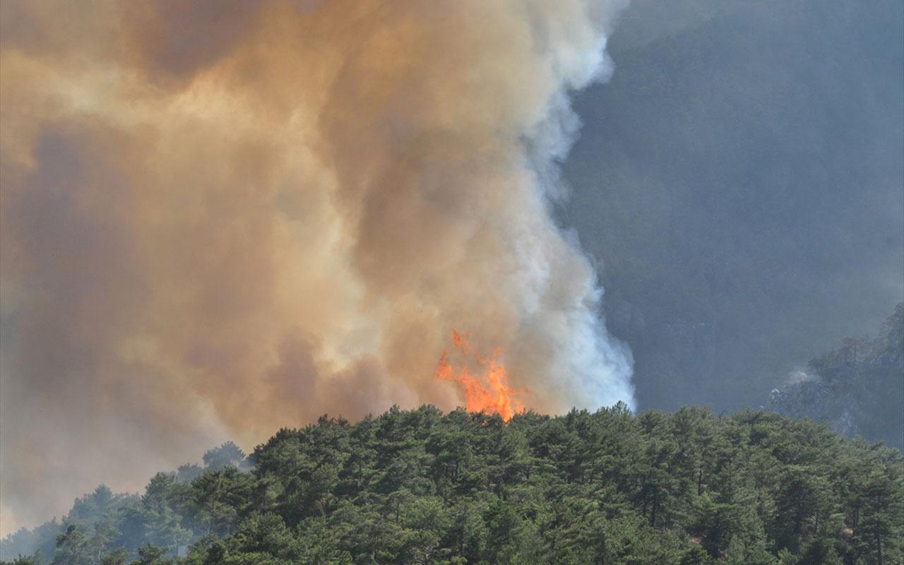 Yangınlarda son durum! Orman Bakanı Bekir Pakdemirli sevindiren haberi verdi