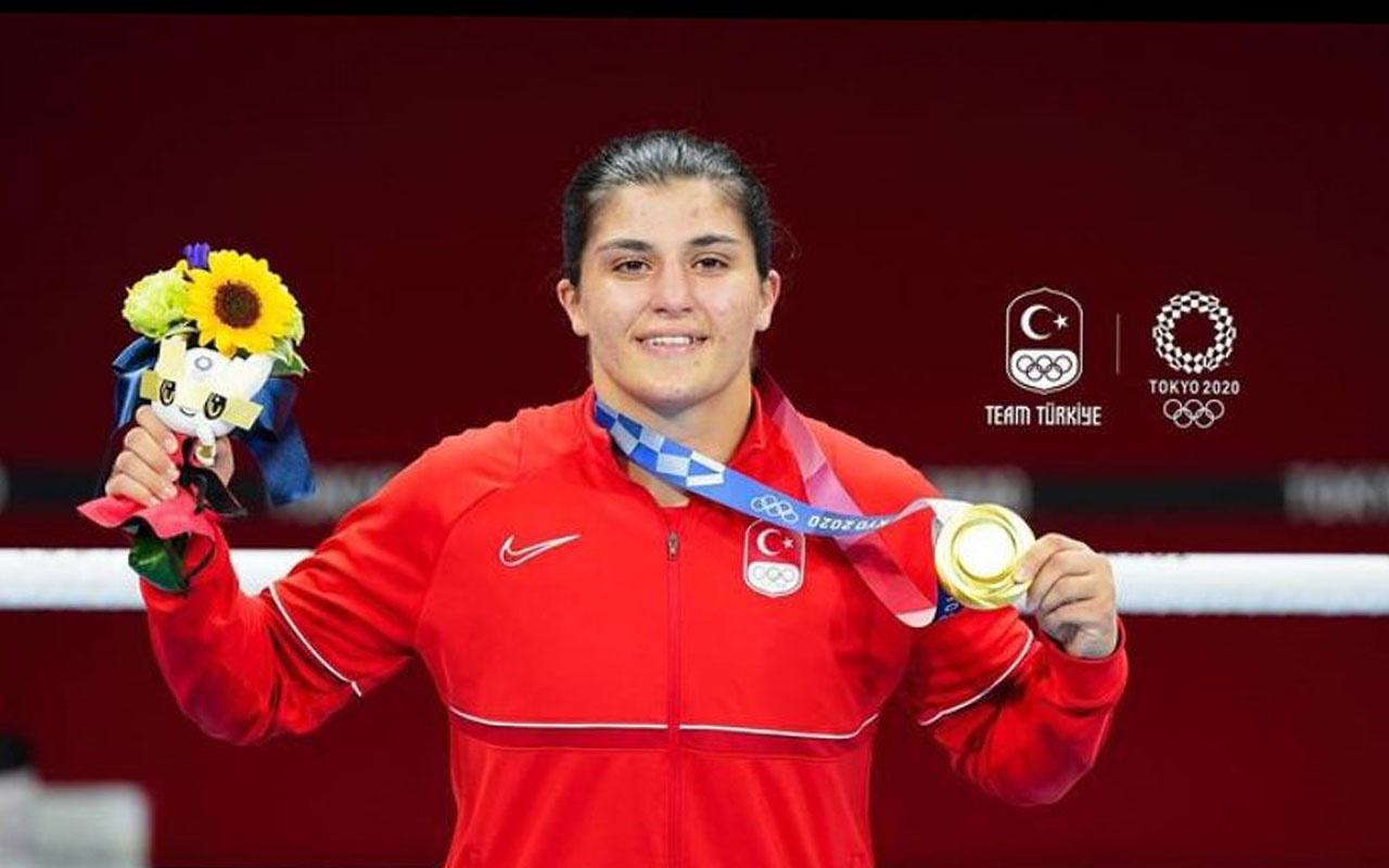 Kerem Bürsin'in madalya tweetine Busenaz Sürmeneli'den ahlaklı cevap