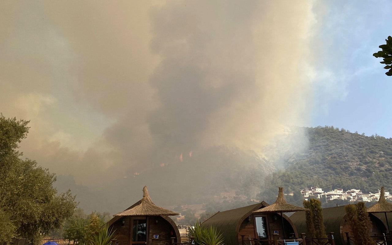 Milas ve Köyceğiz'deki yangınlar hala devam ediyor Seydikemer'de yenisi başladı işte son durum!