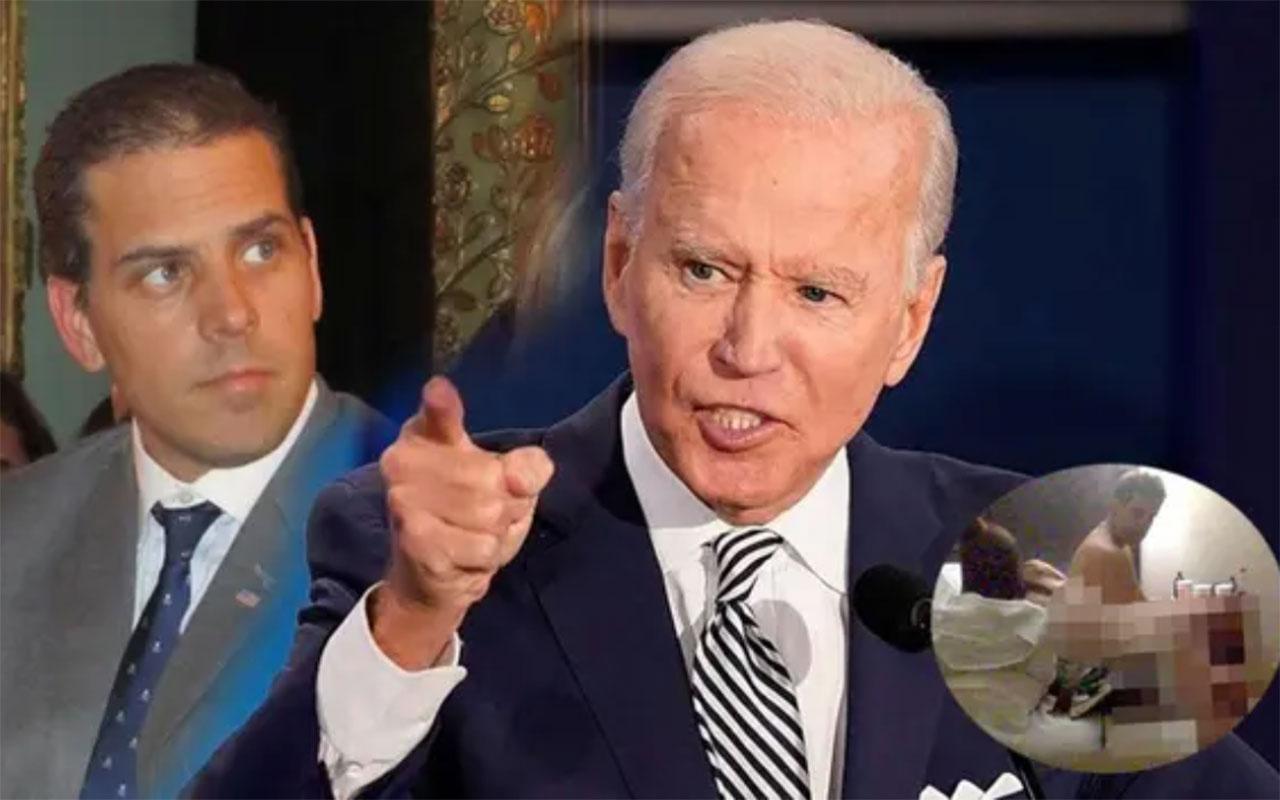 ABD Başkanı Joe Biden'a büyük şok! Oğlu Hunter Biden'ın +18'lik çıplak görüntüleri sızdı