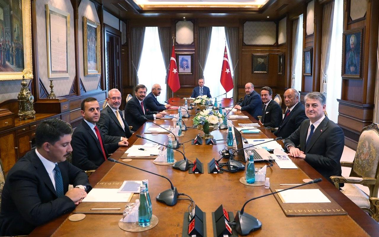 Cumhurbaşkanı Erdoğan, yerli otomobil TOGG heyetini kabul etti