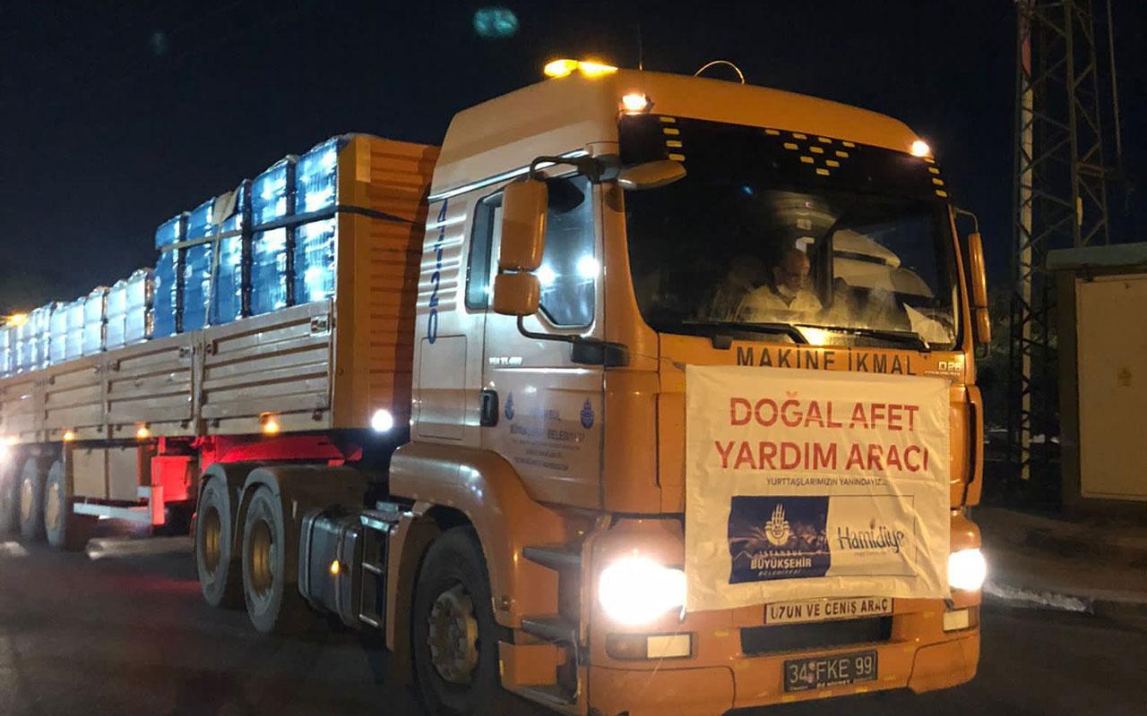 İstanbul Büyükşehir Belediyesi'nden sel bölgesine yardım eli! Ekrem İmamoğlu açıkladı