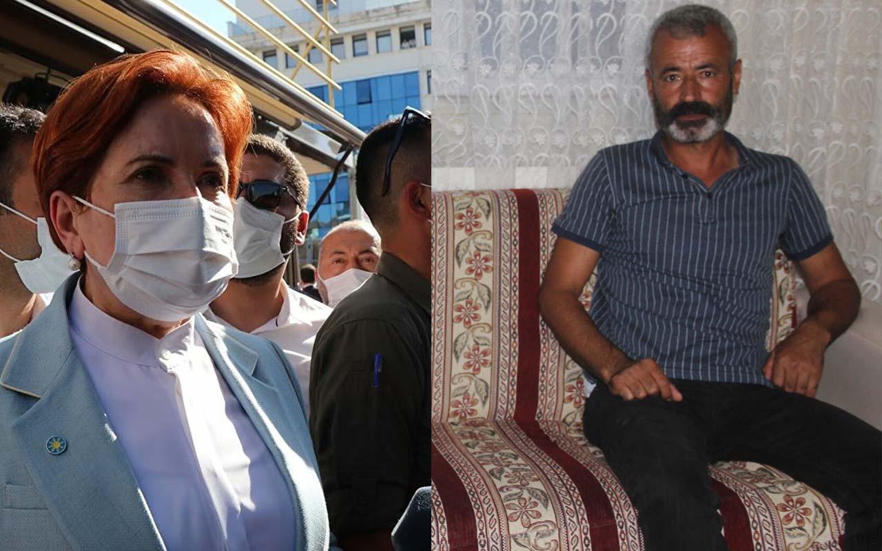 Meral Akşener ile tartışan şehit ağabeyi yaşananı anlattı: Akşener'i masamıza davet ettik gelmedi!