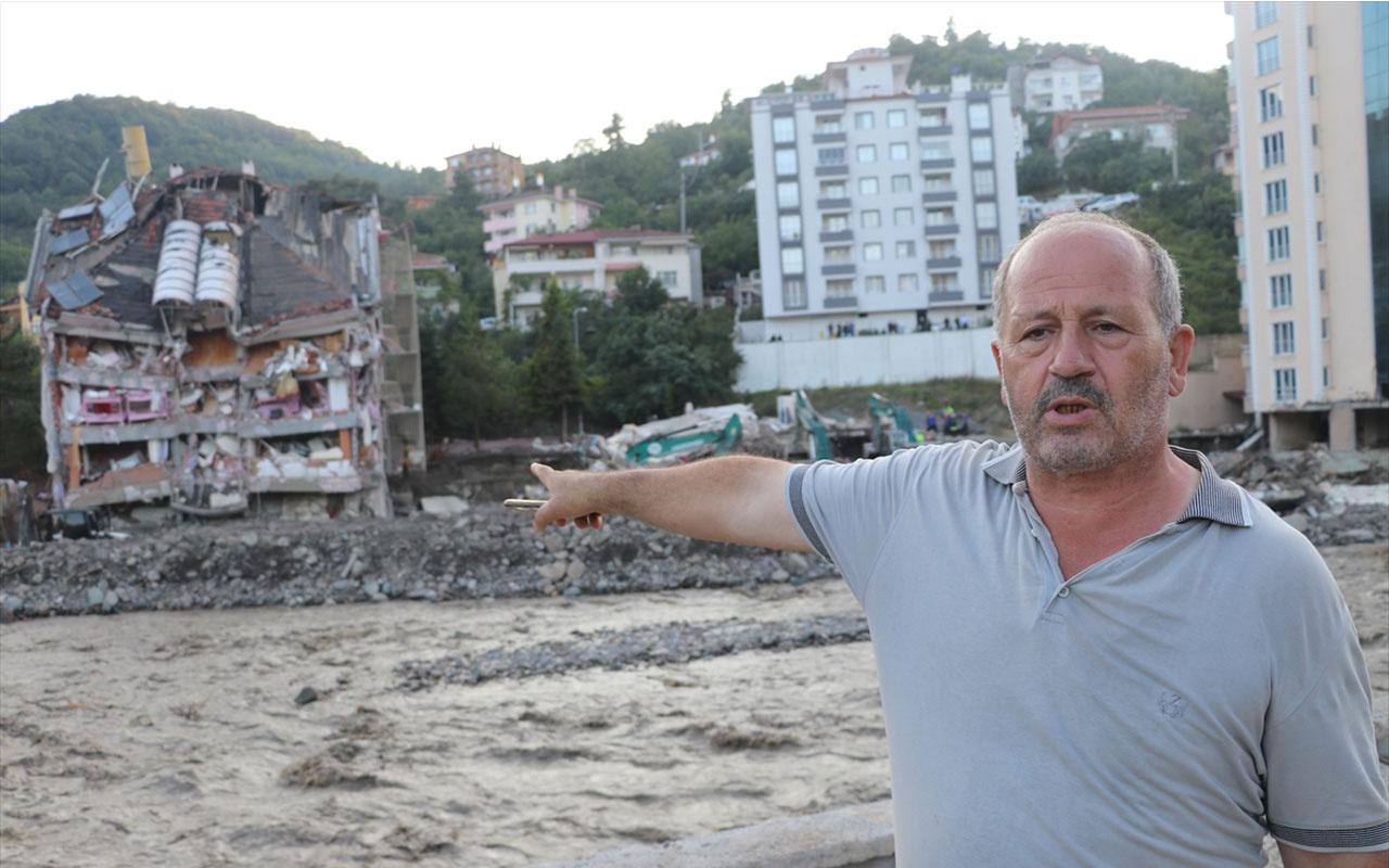 Bozkurt'ta Kur'an Kursu öğrencilerinin ip düzeneği oluşturup suya giren emekli astsubay kurtardı