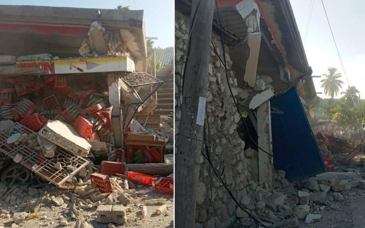 Haiti'deki 7,2'lik depremde ölenlerin sayısı 1297'ye yükseldi