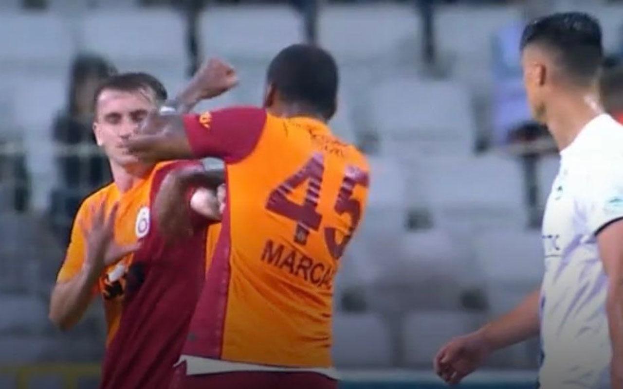 Galatasaray'da skandal! Marcao takım arkadaşını yumrukladı