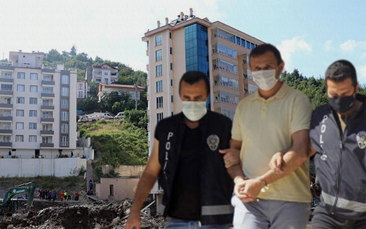 Kastamonu Bozkurt'ta selde çöken Ölçer Apartmanı'nın müteahhidi tutuklandı
