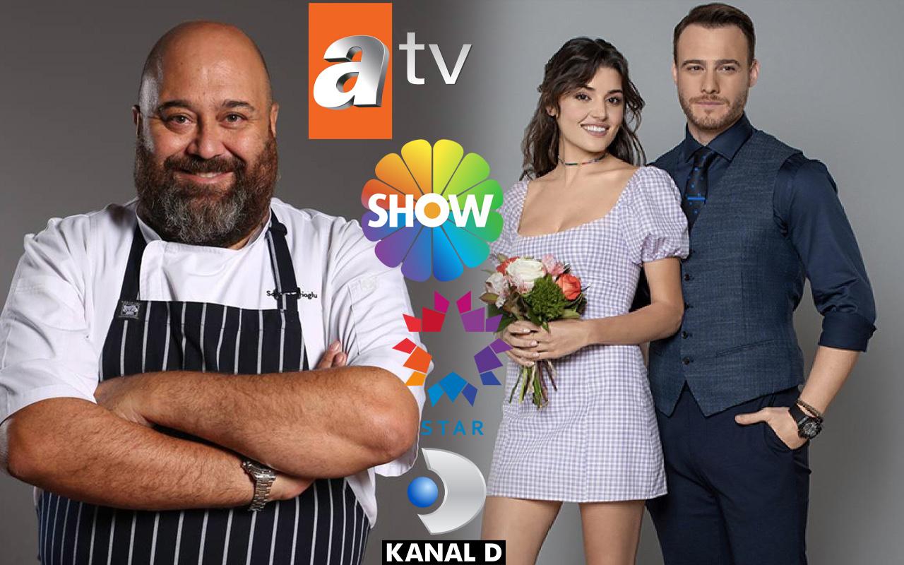 Show TV ATV Kanal D Star TV'ye reyting şoku! Masterchef Sen Çal Kapımı şaşırttı zirve bakın kimin