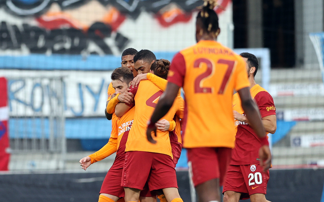 UEFA Avrupa Ligi'nde Randers ile berabere kalan Galatasaray turu İstanbul'a bıraktı